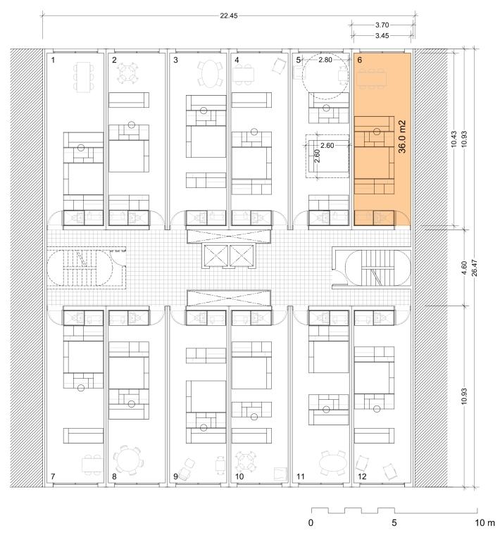 Elastic Living Bldg Floor Plan